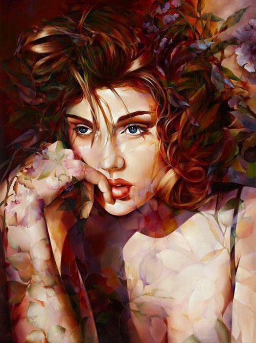 Великолепные картины Венди Энджи (Wendy Ng).