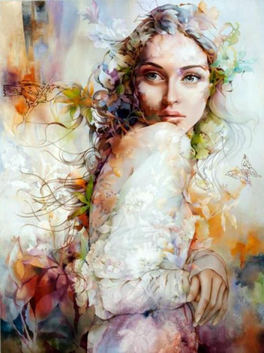 Нежные картины Венди Энджи (Wendy Ng).