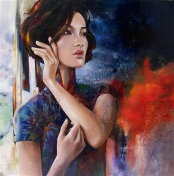 Красочные картины Венди Энджи (Wendy Ng).