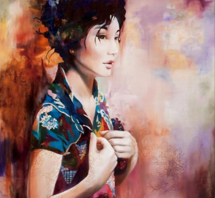 Соблазнительные картины Венди Энджи (Wendy Ng).
