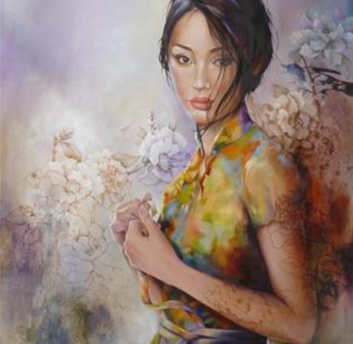 Интригующие картины Венди Энджи (Wendy Ng).