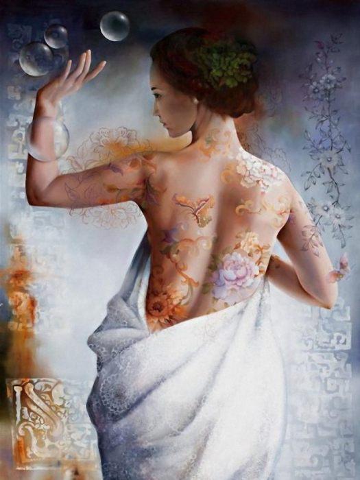 Волшебные картины Венди Энджи (Wendy Ng).