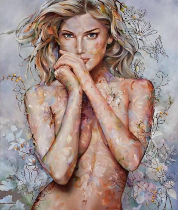 Сексуальные картины Венди Энджи (Wendy Ng).