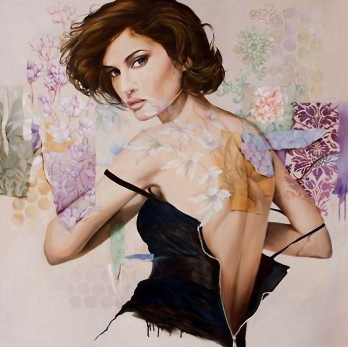 Очаровательные картины Венди Энджи (Wendy Ng).