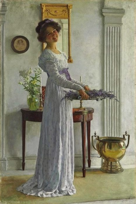 Свежая лаванда. Автор: William Henry Margetson.