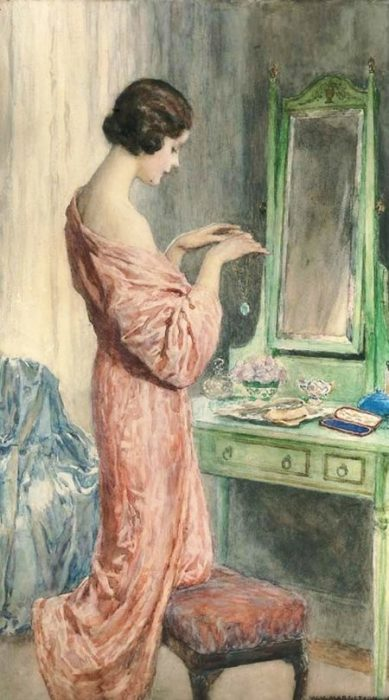 Кулон. Автор: William Henry Margetson.
