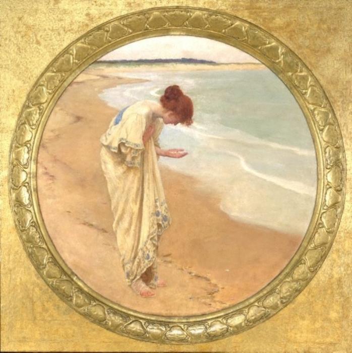 Жемчуг, рождённый морем. Автор: William Henry Margetson.