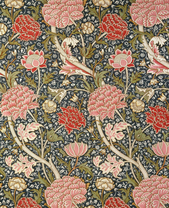 Мебельная ткань, Уильям Моррис, 1884 год.