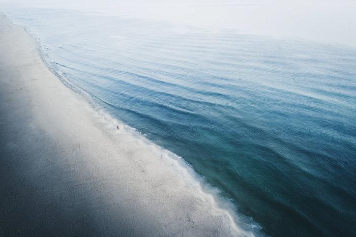 Пляж. Автор: Witold Ziomek.
