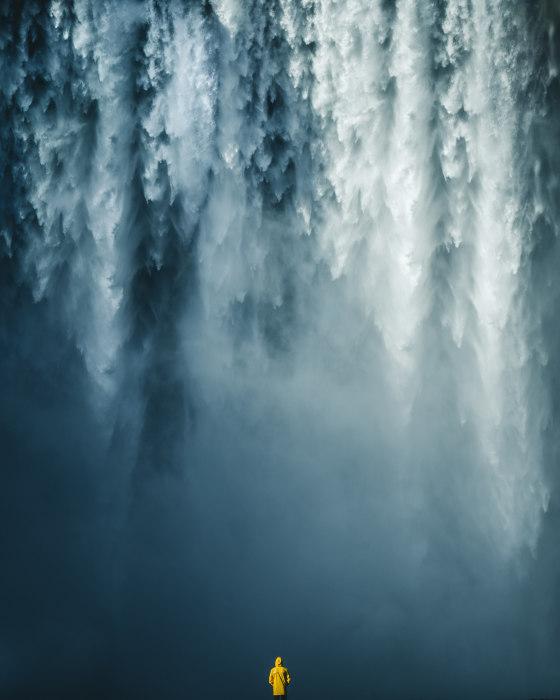 Водопад. Автор: Witold Ziomek.