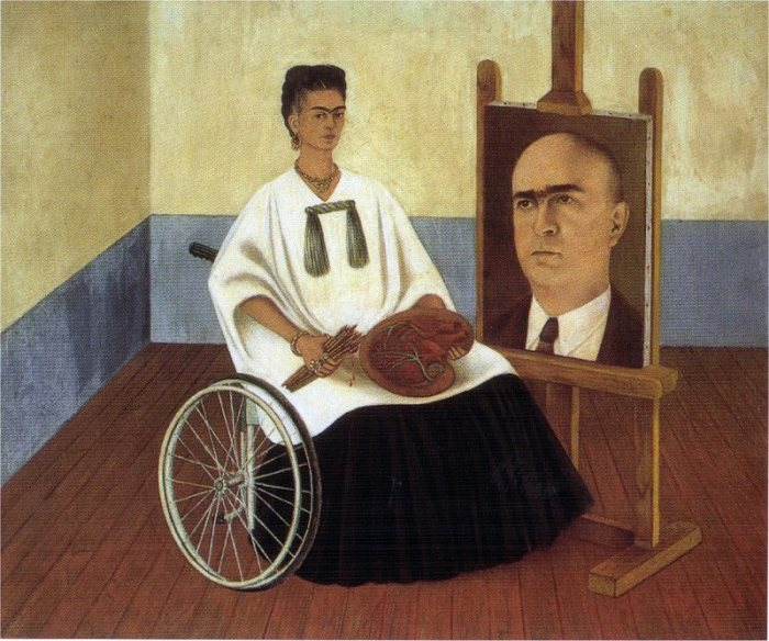 Автопортрет с портретом доктора Фарилла. \ Фото: gallerix.ru.