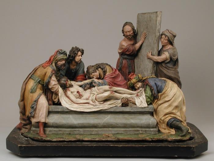 Погребение Христа, 1700-1701 годы. \ Фото: artwithhillary.blogspot.com.