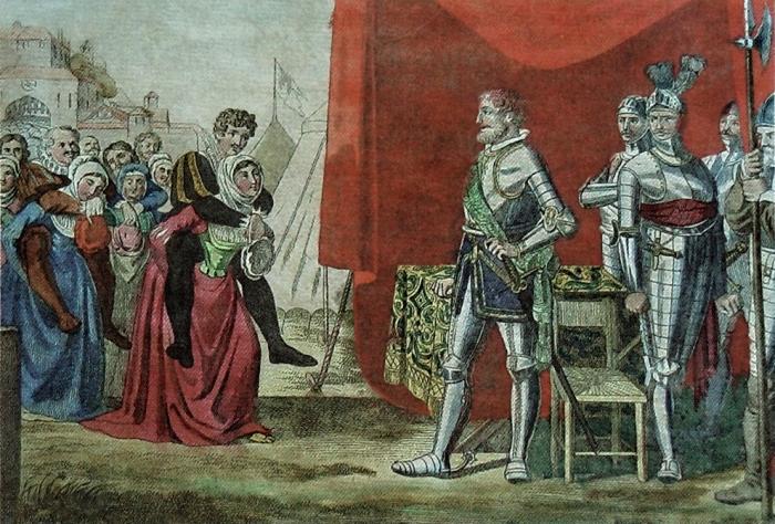 благородный поступок женщин Вайнсберга. \ Фото: de.wikipedia.org.