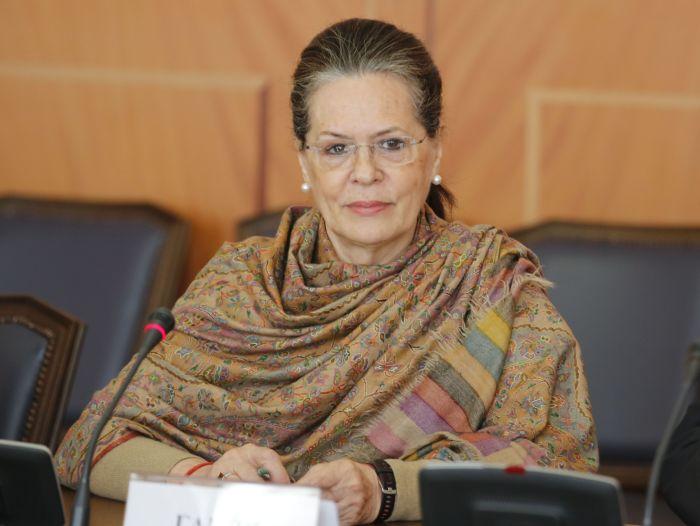 Соня Ганди - лидер парламентской фракции партии «Индийский национальный конгресс». \ Фото: google.ru.