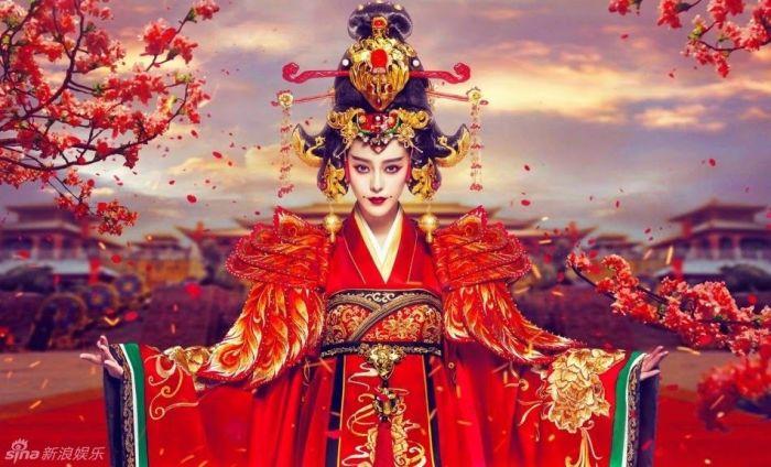 Кадр из фильма: Императрица Китая. \ Фото: pinterest.com.