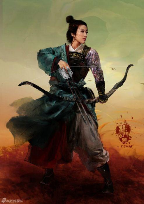 Принцесса Пинъян. \ Фото: pinterest.com.