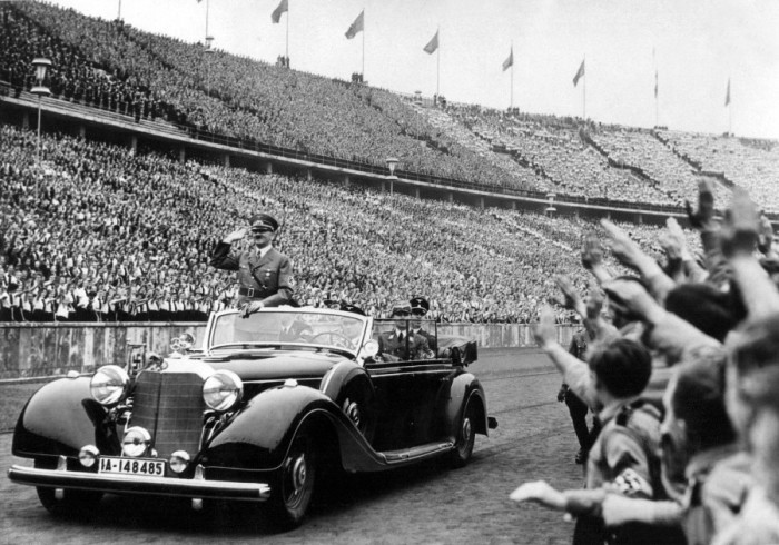 Автомобиль Гитлера: Mercedes Benz 770k.