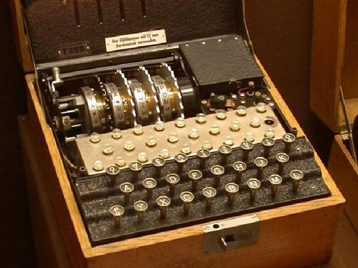 Шифровальная машина Энигма.