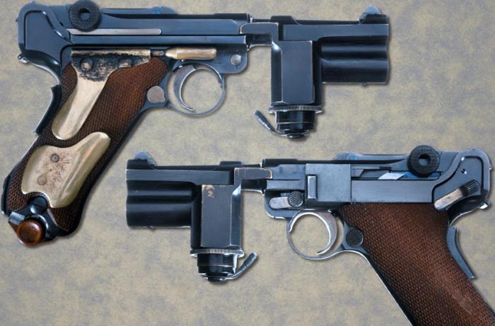«Люгер» - пистолет «ночной гвардии» Гитлера.