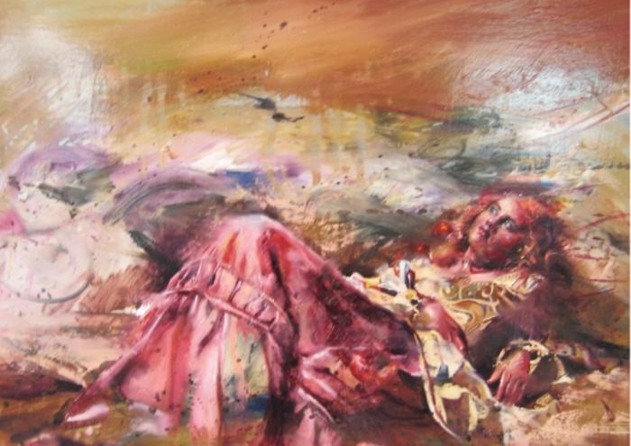 На грани приличий: Чарующие дамы на чувственных картинах греческого художника