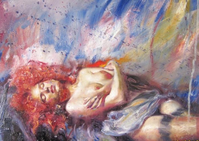 Рыжая бестия. Автор: Yannis Koutrikas.