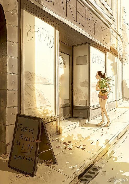 Радовать себя приятными мелочами. Автор: Yaoyao Ma Van.