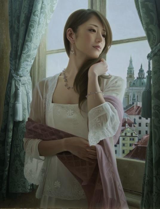 Мечтая о прекрасном. Автор: Yasutomo Oka.