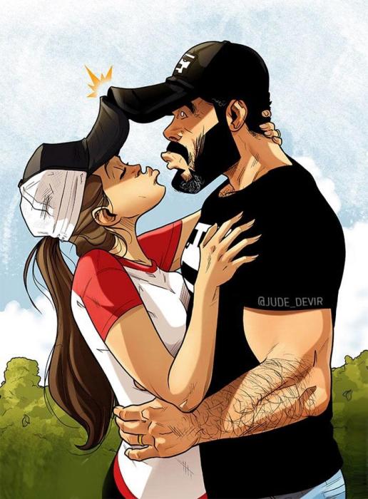 Утиный поцелуй. Автор: Yehuda Adi Devir.