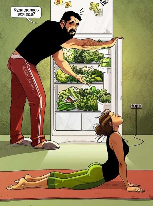 Мы на диете? Автор: Yehuda Adi Devir.