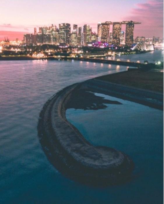 Сингапур - город-сказка, город-загадка. Автор: Yik Keat Lee.