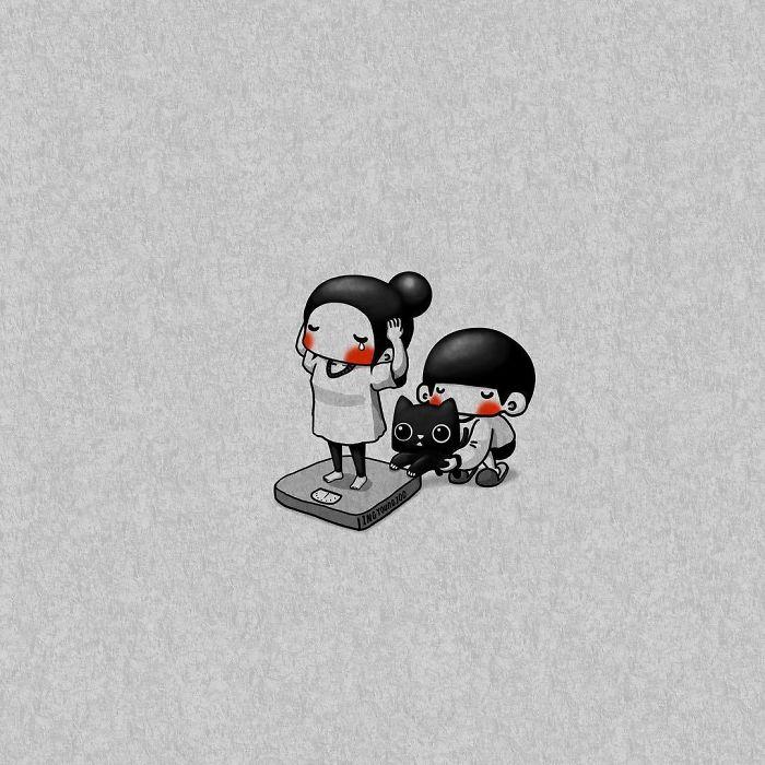 Маленькие шалости. Автор: Young Joo Kim.