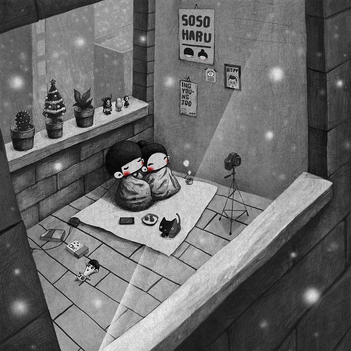 Вечер для двоих. Автор: Young Joo Kim.
