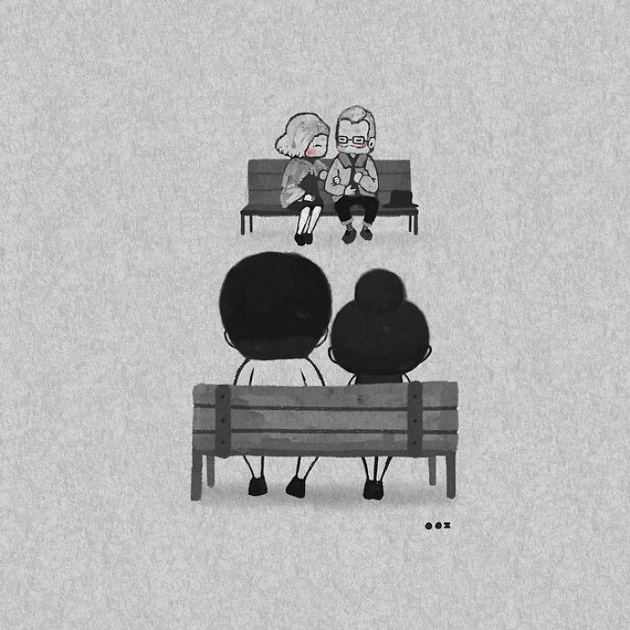 Наши чувства останутся неизмены. Автор: Young Joo Kim.