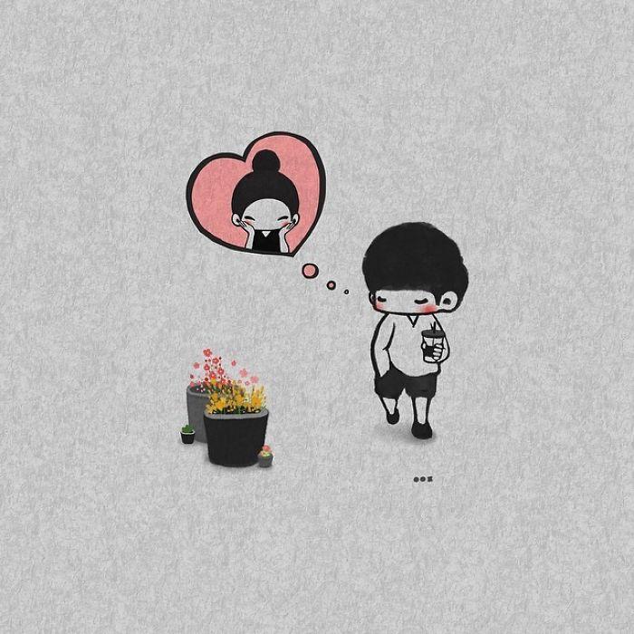 Все мысли только о тебе. Автор: Young Joo Kim.