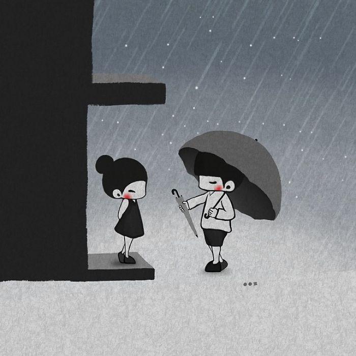 Забота. Автор: Young Joo Kim.