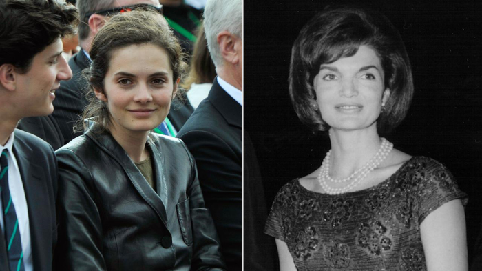 Роза Шлоссберг в 2013 году (слева) и молодая Джеки Кеннеди в 1961 году. \ Фото: thenewdaily.com.