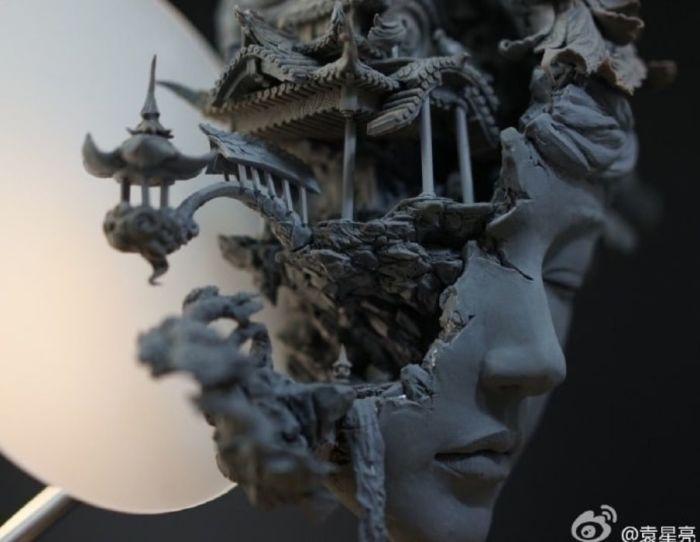 Магия и волшебство, заключённое в фэнтезийных работах Юаньсинь Ляня.