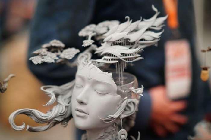 Весенний маг. Автор: Yuanxing Liang.