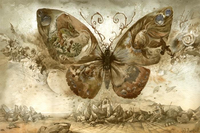 Эффект бабочки. Автор: Юрий Лаптев.