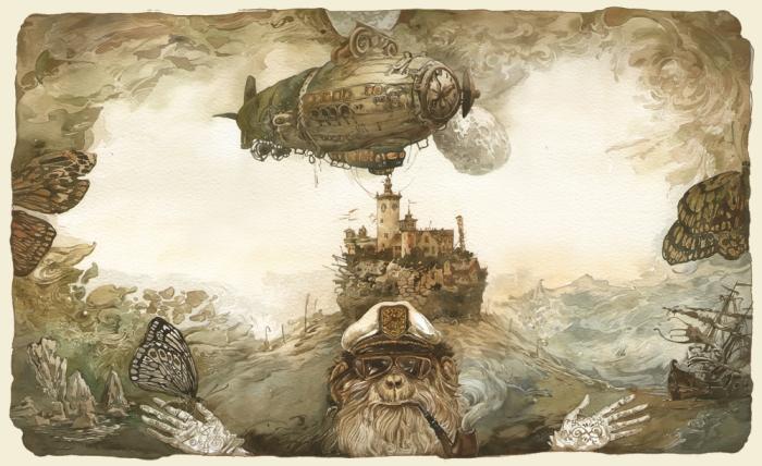 Капитан из альтернативной истории. Автор: Юрий Лаптев.