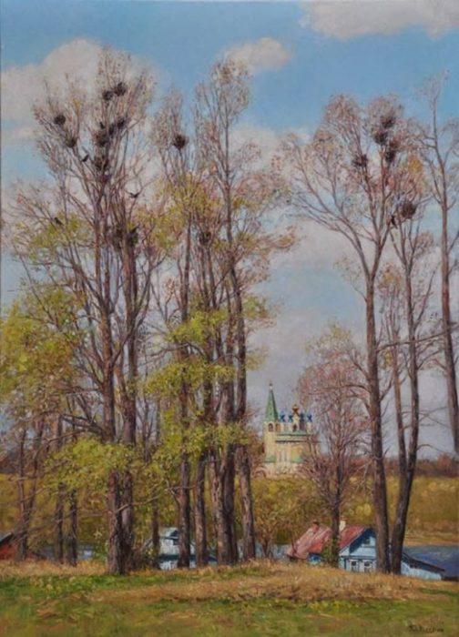 Весна пришла. Автор: Юрий Кудрин.