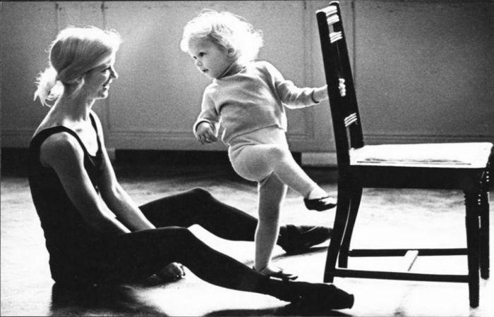 Рождение балерины, 1966 год. Автор: Юрий Абрамочкин.