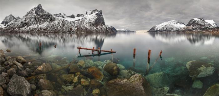 Фьорды Норвегии.