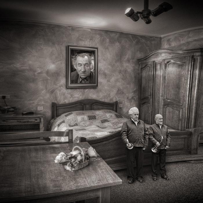 Спальня родителей. Автор: Yves Lecoq.