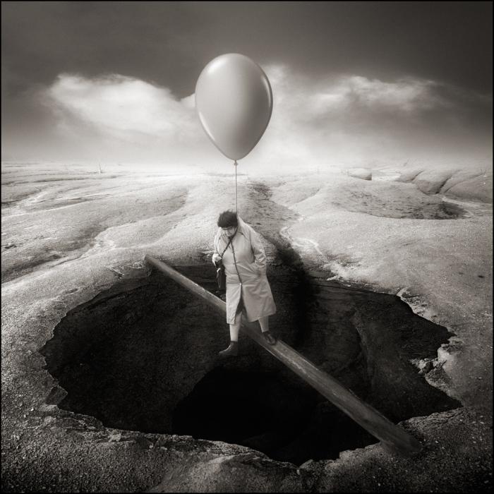 Первый шаг всегда самый сложный. Автор: Yves Lecoq.