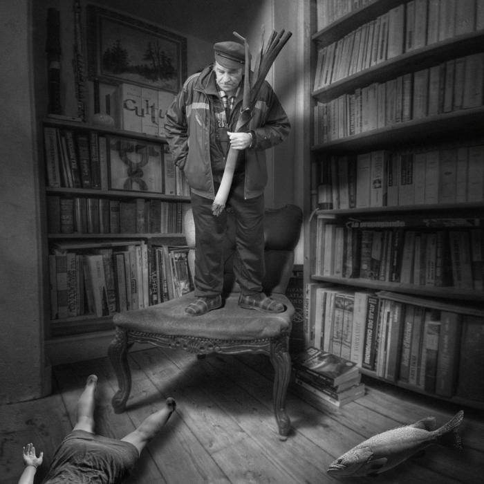 Убийство с луком-пореем. Автор: Yves Lecoq.