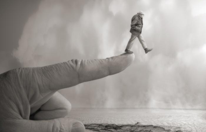 Следуй за пальцем. Автор: Yves Lecoq.