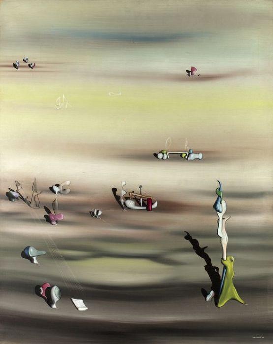 Вымирание видов II. Автор: Yves Tanguy.