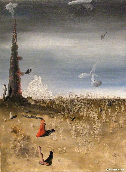 Ненужные огни. Автор: Yves Tanguy.