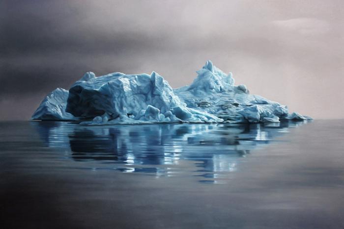Реалистичные пейзажи с ледниками Антарктиды и пенными волнами Мальдив